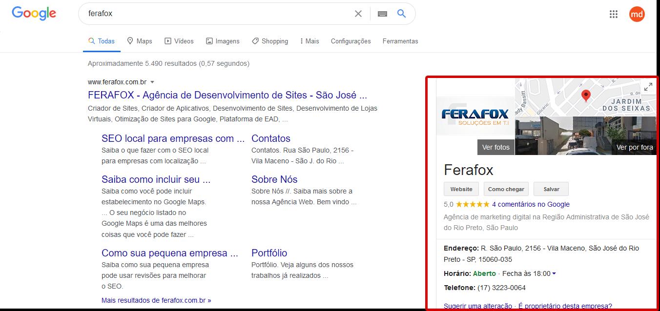 Como colocar a minha empresa no Google Meu Negócio